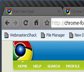 Download Carbon Fiber Google Chrome Theme